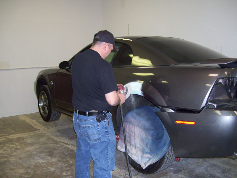 Repair Car Scratch Down To Primer